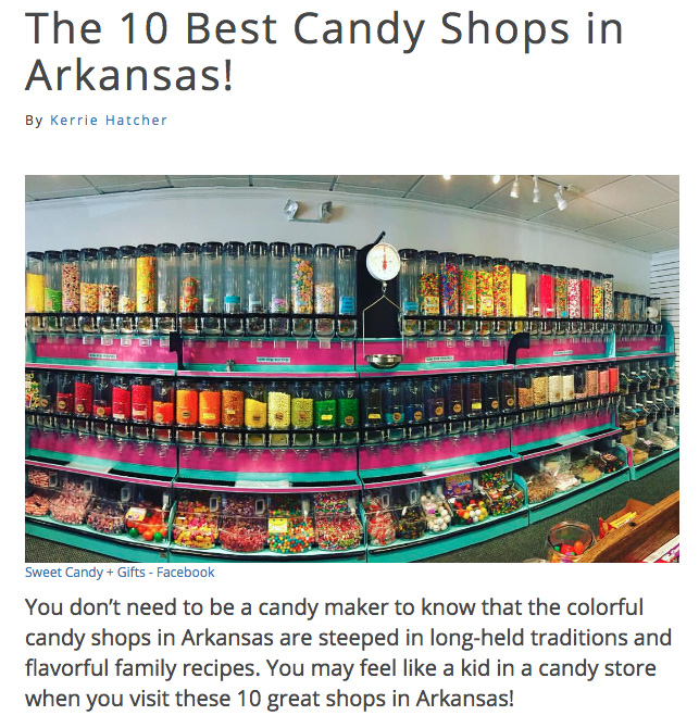 From Best of Arkansas, The 10 Best Candy Shops in Arkansas