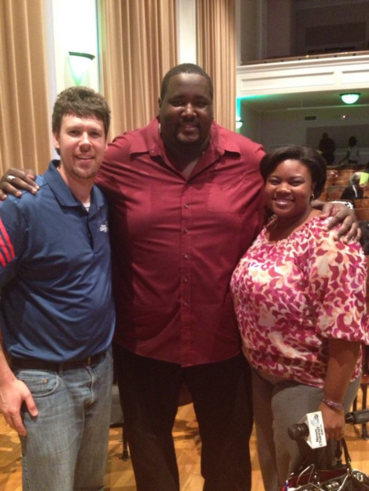 Quinton Aaron ( The Blind Side)