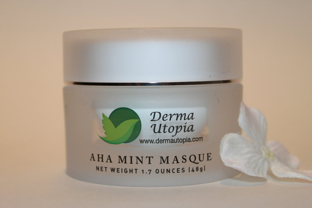 AHA Mint Mask