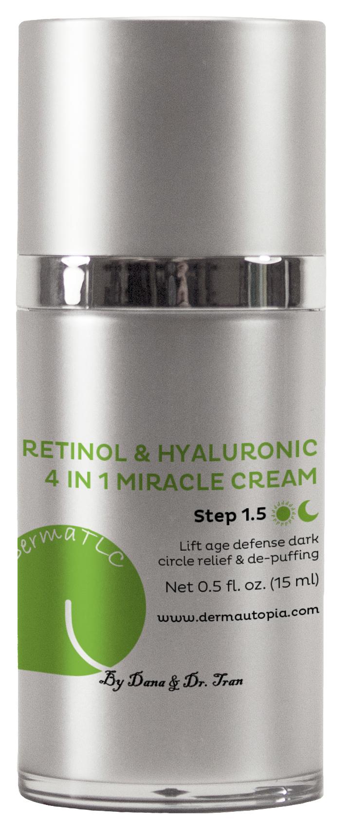 Retinol & Hyaluronic 4 in 1 Miracle Eye Cream