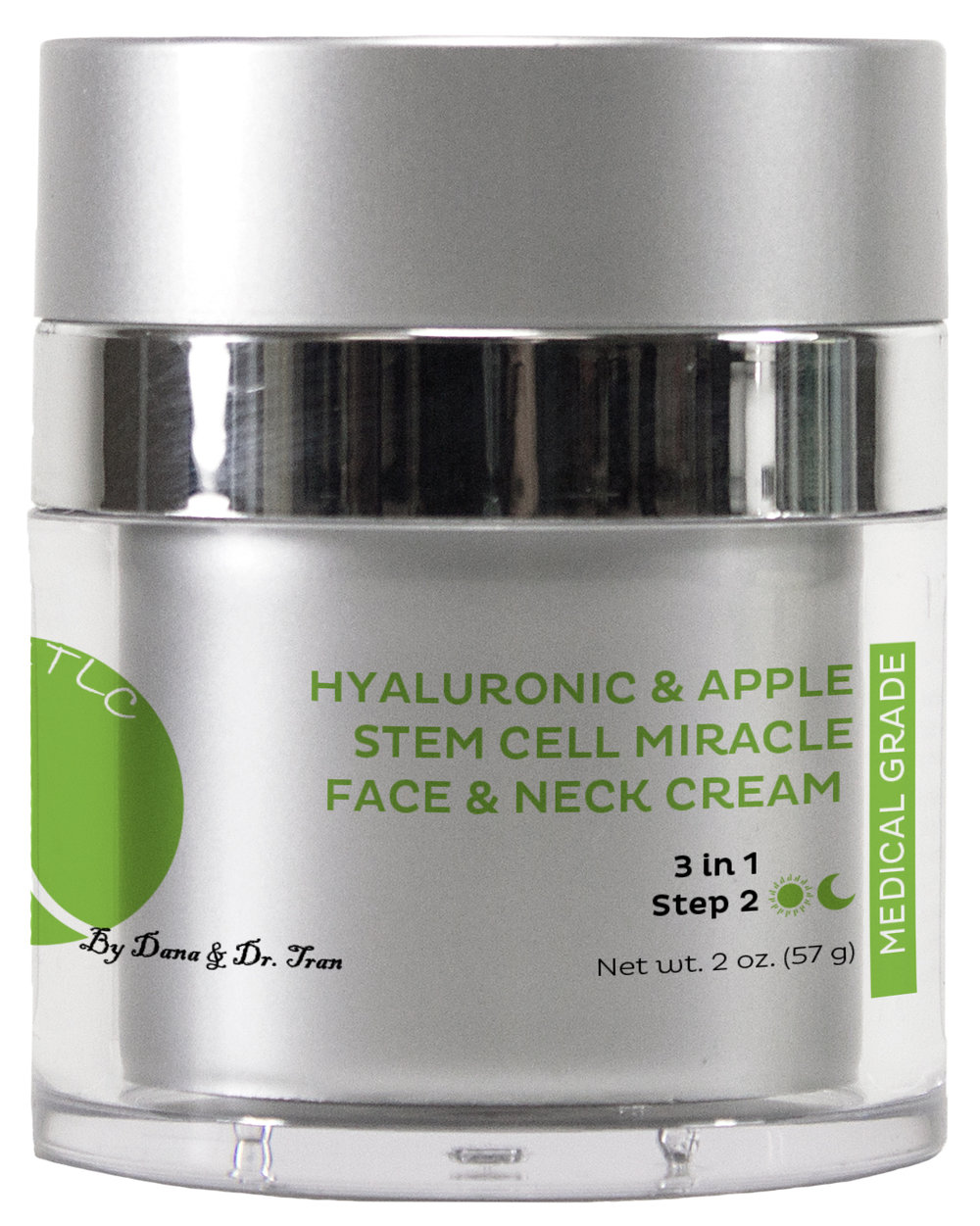Hyaluronic & Apple Stem Cell Miracle face and Neck Cream