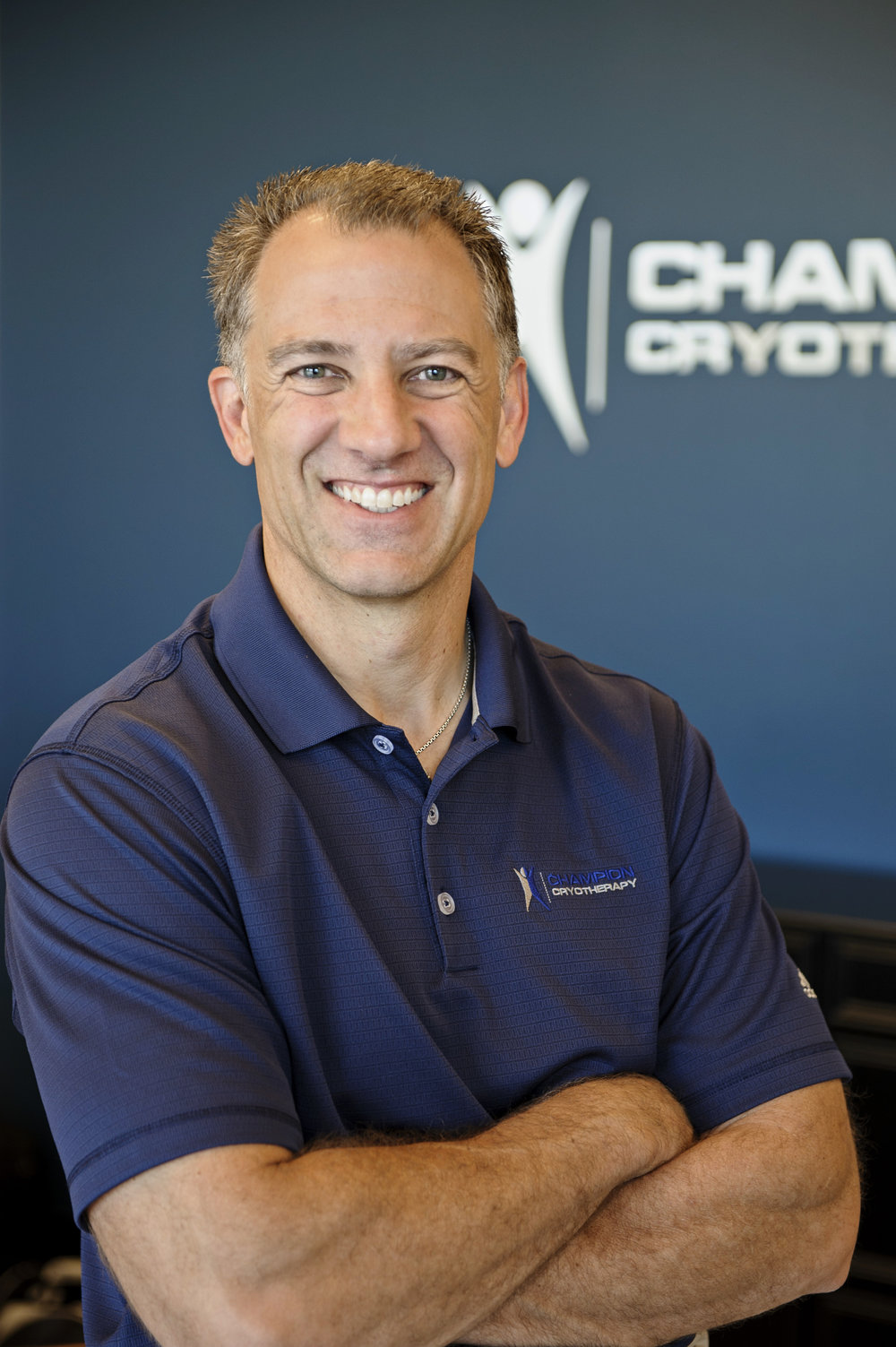 Image of Todd Pendleton, Champion Cryotherapy Founder.  Whole body cryotherapy at Austin's leading cryo spa. Restore tired muscles  and recover from back and joint pain using the proven healing therapy of cold temperatures. Offering whole body cryotherapy, cold laser therapy, sport massage therapy, Normatec compression, and more.