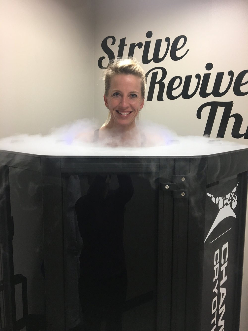 Whole body cryotherapy at Austin's leading cryo spa. Restore tired muscles  and recover from back and joint pain using the proven healing therapy of cold temperatures. Offering whole body cryotherapy, cold laser therapy, sport massage therapy, Normatec compression, and more.