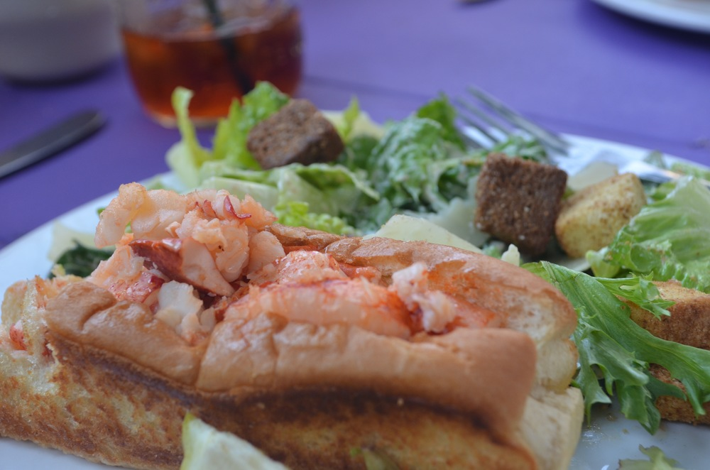 Had to throw in a lobster roll for good measure--my family liked this one at Side Street Cafe, but the food was excellent at Cafe This Way too.