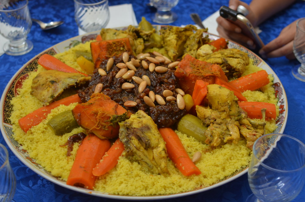 my first real Moroccan couscous