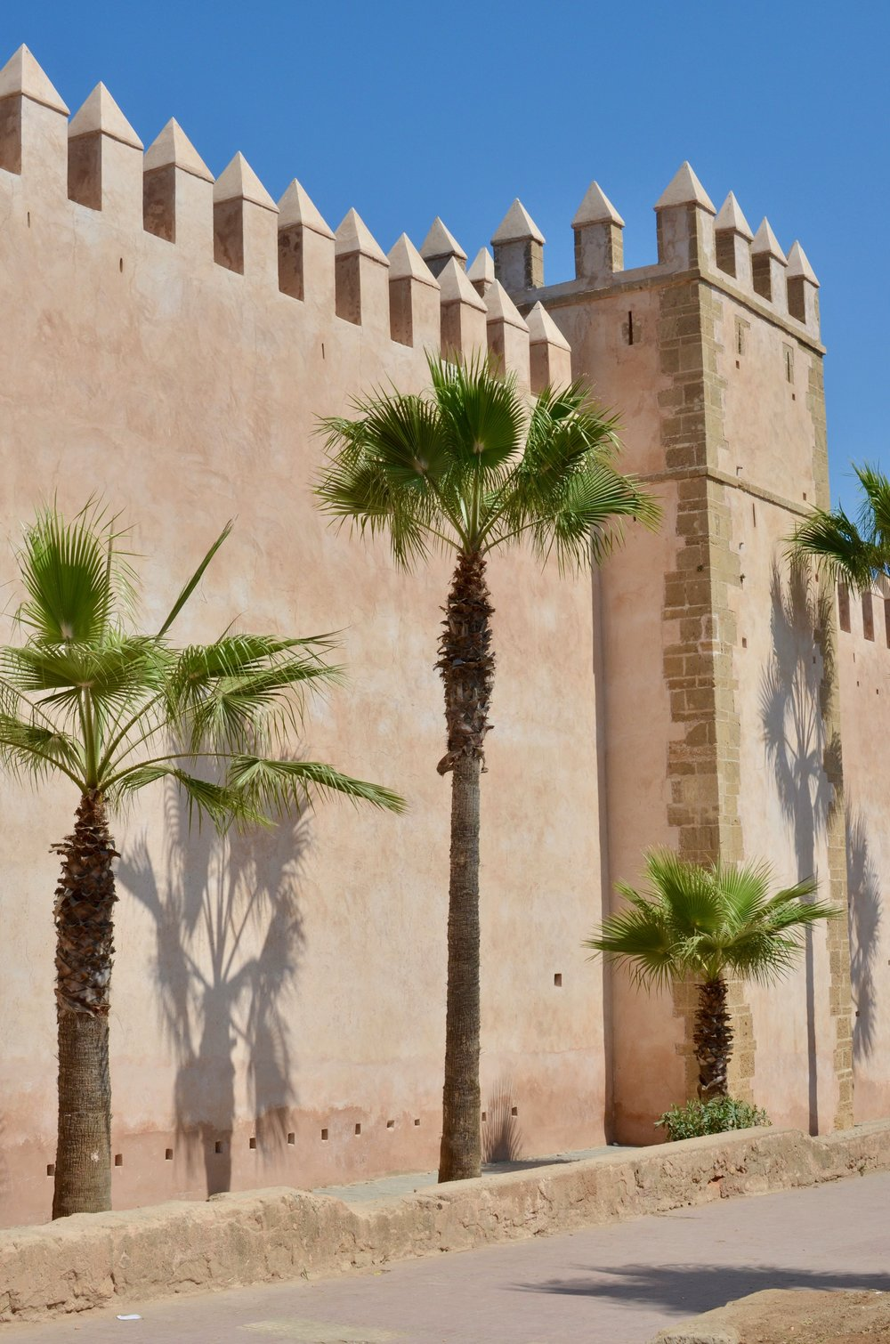 the Rabat Kasbah, basically a walled, historic part of the city