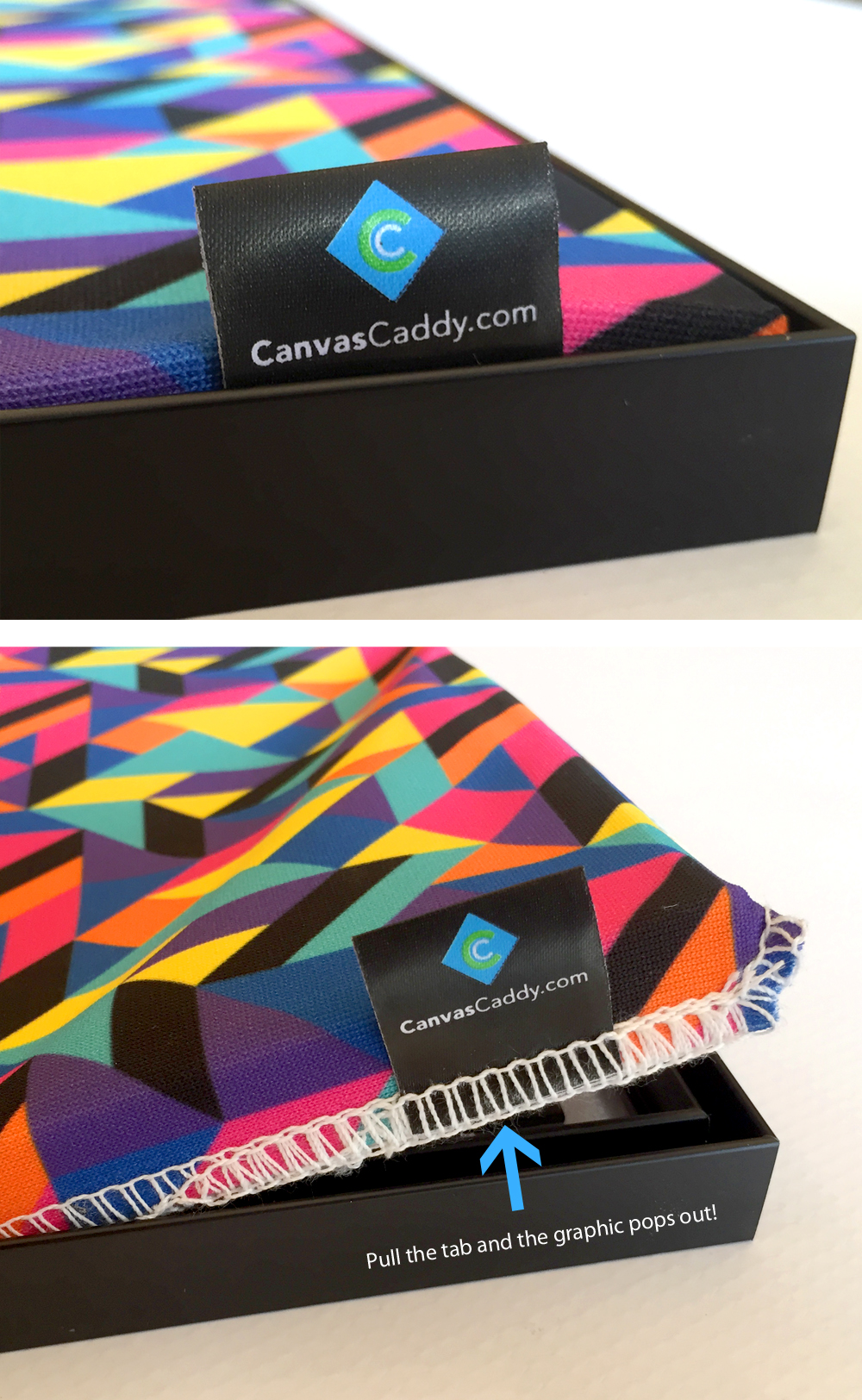interchangeable canvas graphics