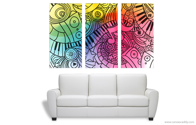 Charmant 3 Piece Wall Art