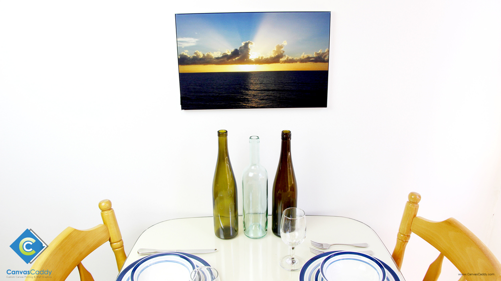 custom printed photo canvas