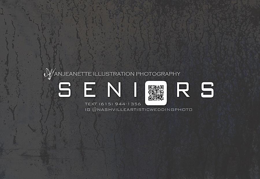 Hendersonville Tn Artistic Senior Pictures Photographer | Anjeanette Illustration Photography