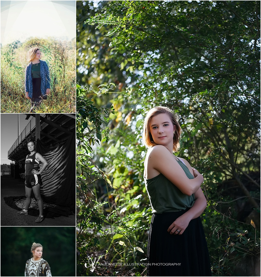 Hendersonviile, Tn Senior Pictures by Nashville Artistic Wedding Photographer Anjeanette Illustration Photography