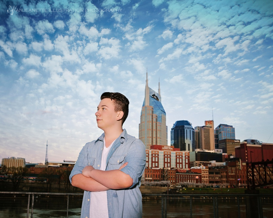 Hendersonville Tn Senior Pictures by Nashville Artistic Photographer Anjeanette Illustration Photography