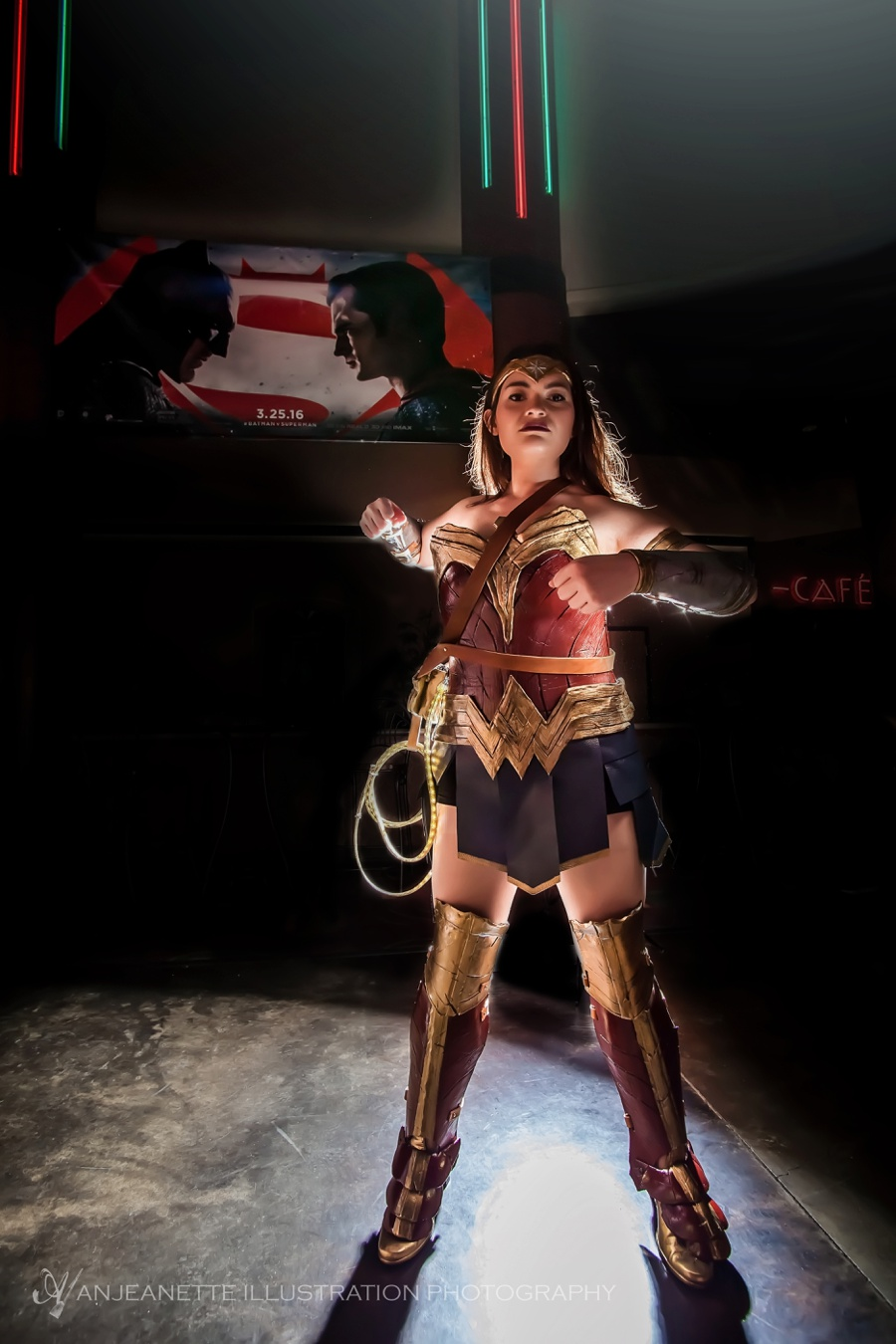 I am super tickled and excited for Virginia that her Wonder Woman cosplay by Dee Volpe was chosen as a third place winner of  Cosplay Magazine  to be published in their  June edition of the magazine !