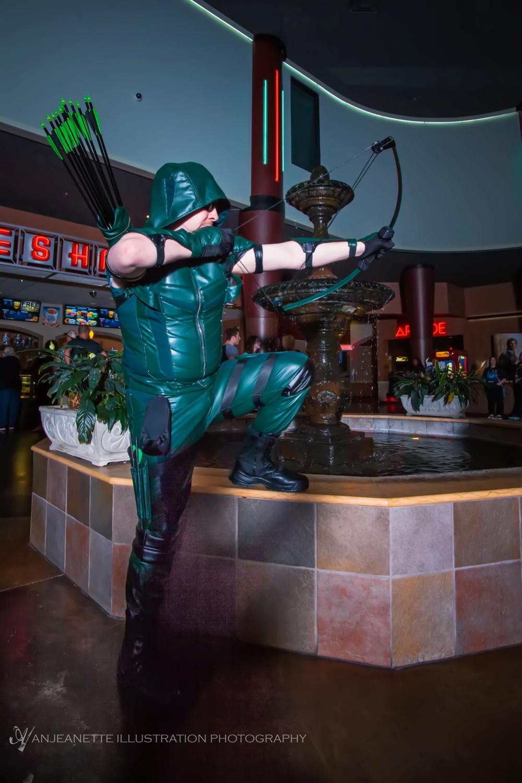 Robert B is Green Arrow!