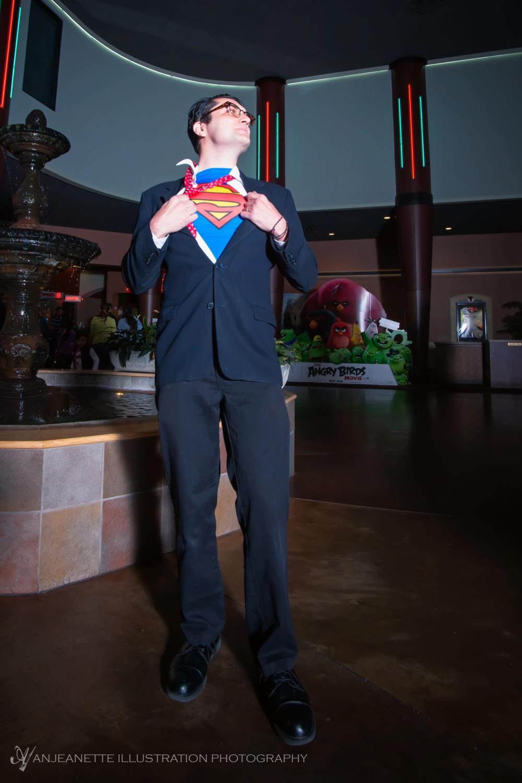 Chris H is Clark Kent!