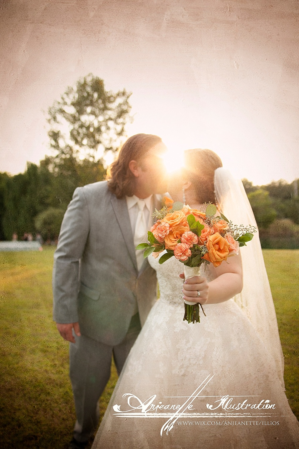 Hendersonville Tn Nashville Area Artistic Wedding Photographer | Anjeanette Illustration Photography 37075