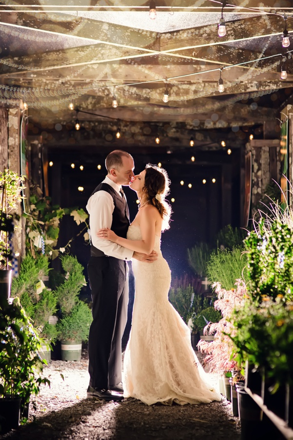 Greenhouse Wedding At Long Hollow Gardens