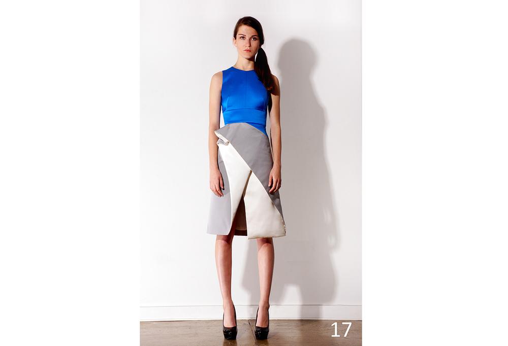 17 Azure, dove grey & ivory distorted pleated hip dress w-front slit_KJ0716DW011.jpg