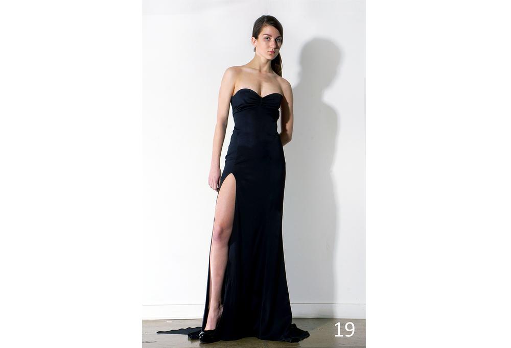 19 Stretch SBC boned tube dress w-gathered front, slit and train_KJ0716GW001.jpg