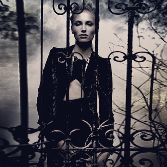 fLAUNT MAGAZINE - SEPTEMBER 2013  #Styling #ilyaKnight #Model #NYC #NYModels #Fashion #Narsmakeup #Necklace