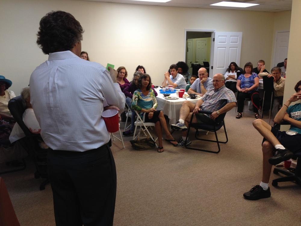 Dr. Louis Miller lecture Greenacres, FL.