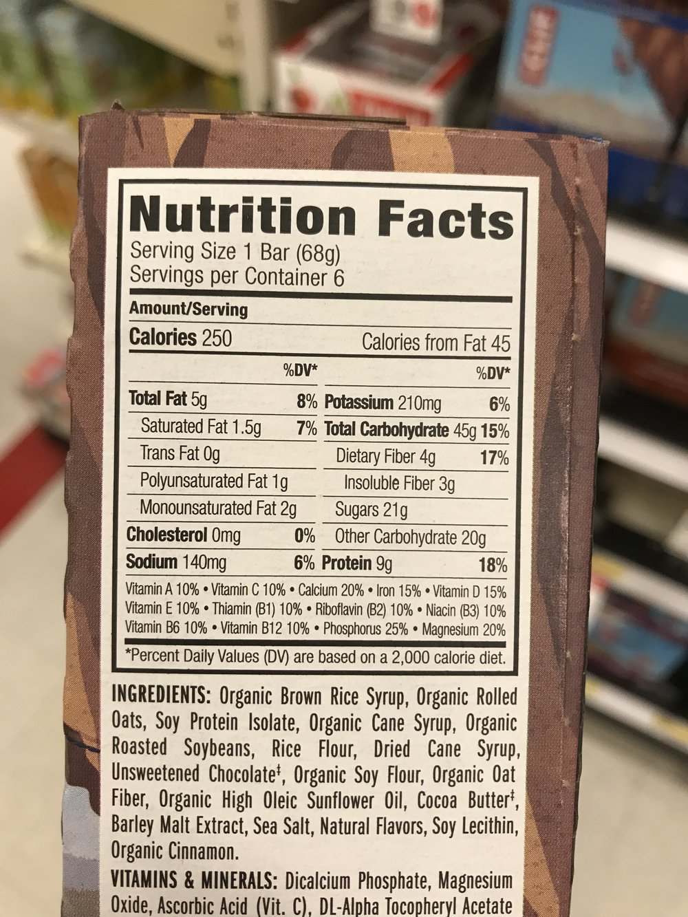 "Always Read the Nutrition Facts - If you look closely at the ingredients of the Clif Bar above, you'll see that the first ingredient is ""Organic Brown Rice Syrup,"" which is another way of saying ""sugar."" It's very convenient to have a bar if you're hungry, but beware of misleading branding. Always read the nutrition facts for sugar content, fat content, carbohydrates, etc. Companies like Clif, Larabar and PowerBar market their products to make them look healthy when in actuality they're more like candy bars. Quest is a company that makes some pretty decent bars and you may even see me snacking on them in the office from time to time. At my clinic we also offer our own ""Advanced Health Systems"" bars that have 15g of protein and still manage to taste great even with little sugar. And in reality none of the bars mentioned are much more easily portable than a good hard-boiled egg, a bag of your favorite nuts or seeds, or a container of Greek yogurt."