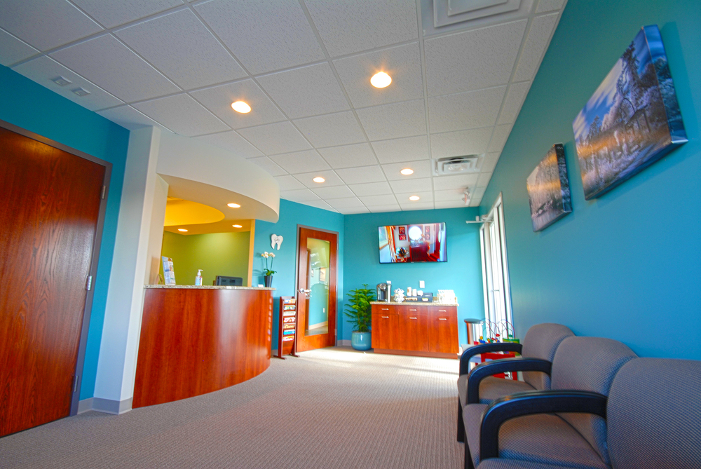 Peter Family Dentistry Lobby