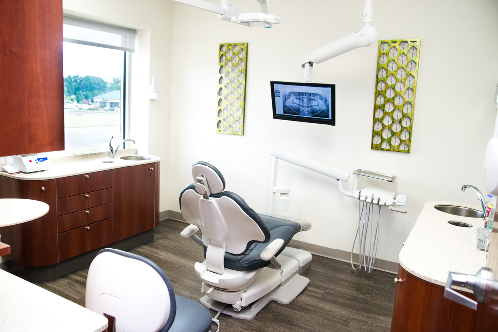 Dentist Chair Ready For Patient