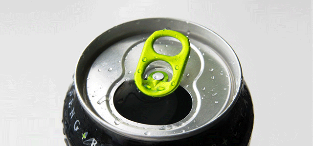 A canned soda is bad for pediatric dental care