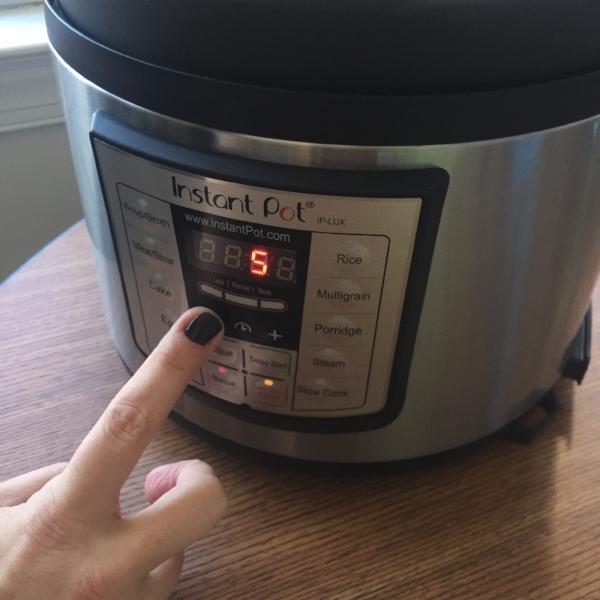 Moong Dal Instant Pot Recipe testing