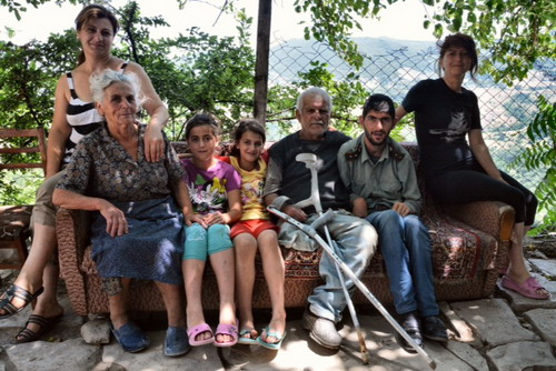 Merjumian family in Myurishen village_1.jpg