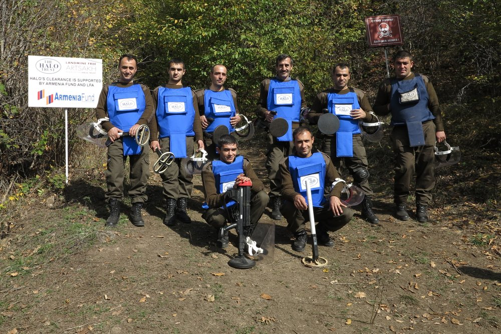 - LFA/Armenia Fund supported Karegah Clearance team