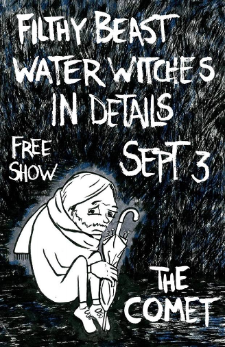 Flier by Charlie Touvell