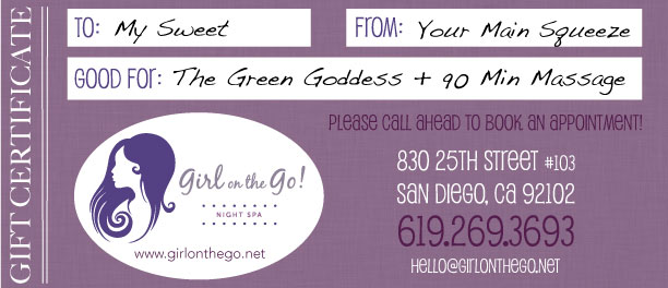 Girl on the Go Gift Certificate
