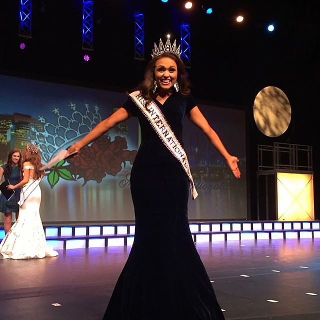 Last night, I was selected as Miss International and True Beauty Movement's heartbeat was heard around the world. I cannot wait to lead and empower more young women through this organization. Thank you to everyone who has ever believed in True Beauty and to those who support the millions of young women that need to hear our message.