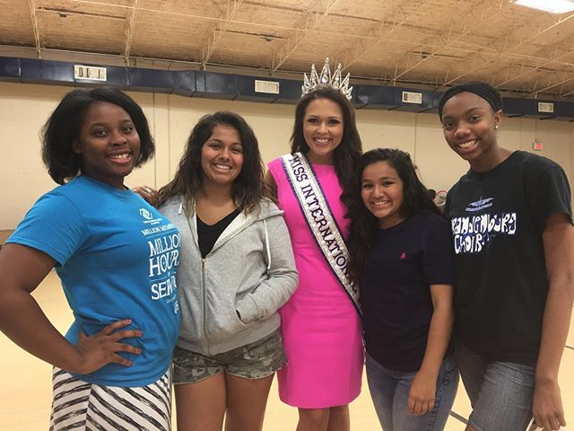 Our Founder and Director, @missintl2016, just returned from her Dallas trip! While there, she was able to share the message of True Beauty Movement with over 30 young women at the Boys & Girls Club of Greater Dallas!