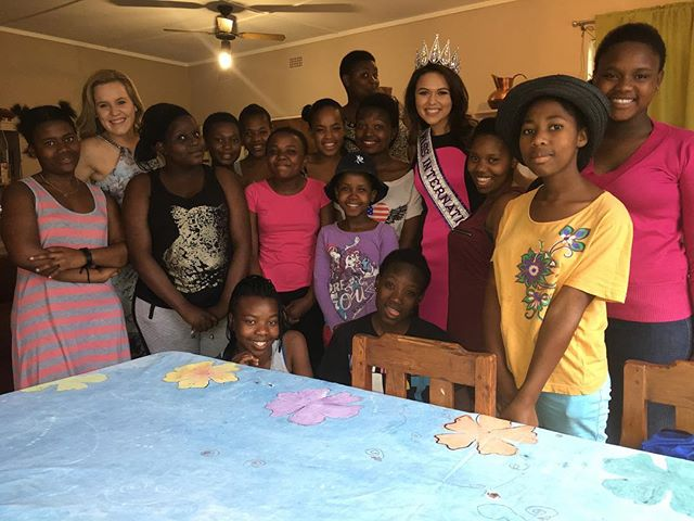 Miss International, Amanda Moreno, partnered with Uitkoms Home For Girls in South Africa to host a True Beauty Movement Workshop. Monje, True Beauty's South Africa Representative, and Amanda shared their personal journeys with the definition of beauty and led activities to help the young women grow a positive body image. The girls finished the day feeling confident and ready for their future.