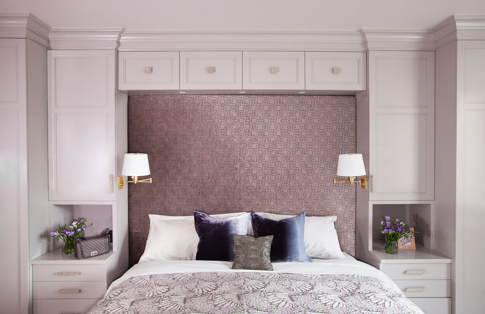 interior Design Photography in New York By Jonathan R. Bevkerman Design By Evelyn Benatar 7th Ave_Head board Master Bed Room 08.jpg