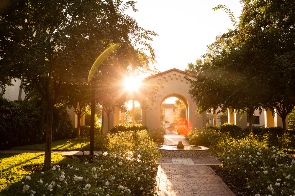 MOST BEAUTIFUL CAMPUS IN THE NATION