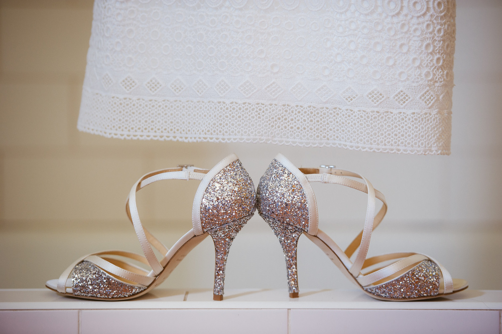 Glitter Wedding Shoes