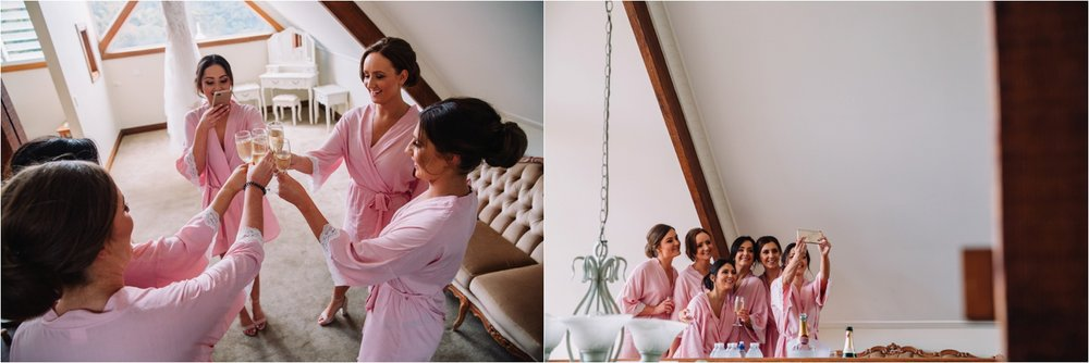Maleny Manor bridesmaids