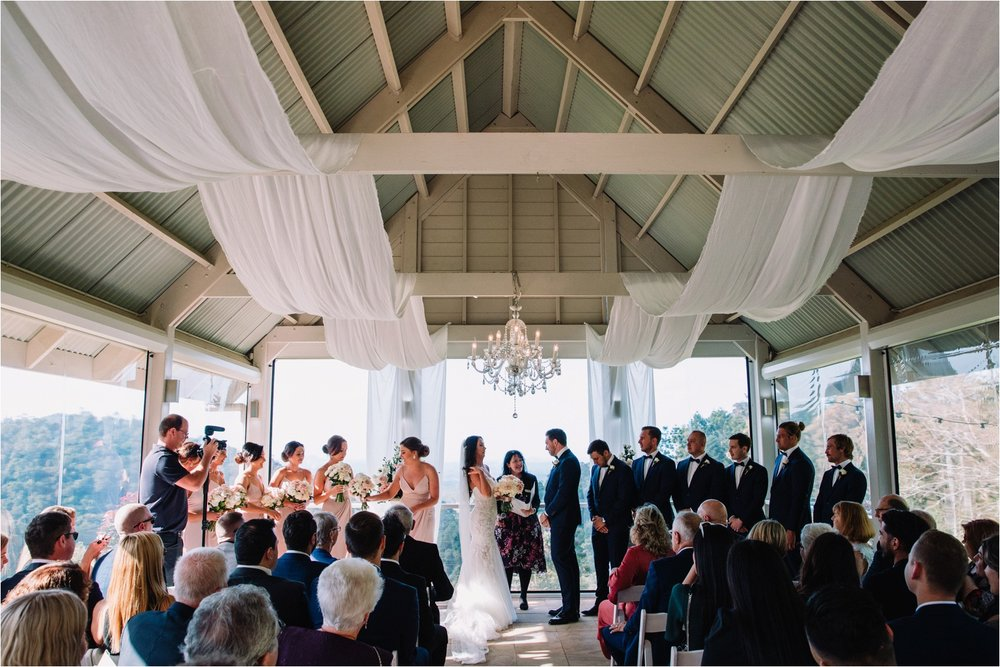Maleny Manor Wedding Ceremony