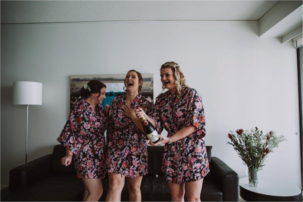 Gold Coast Bridesmaid robes