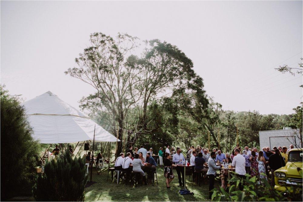 Riverwood Estate Yurt Wedding