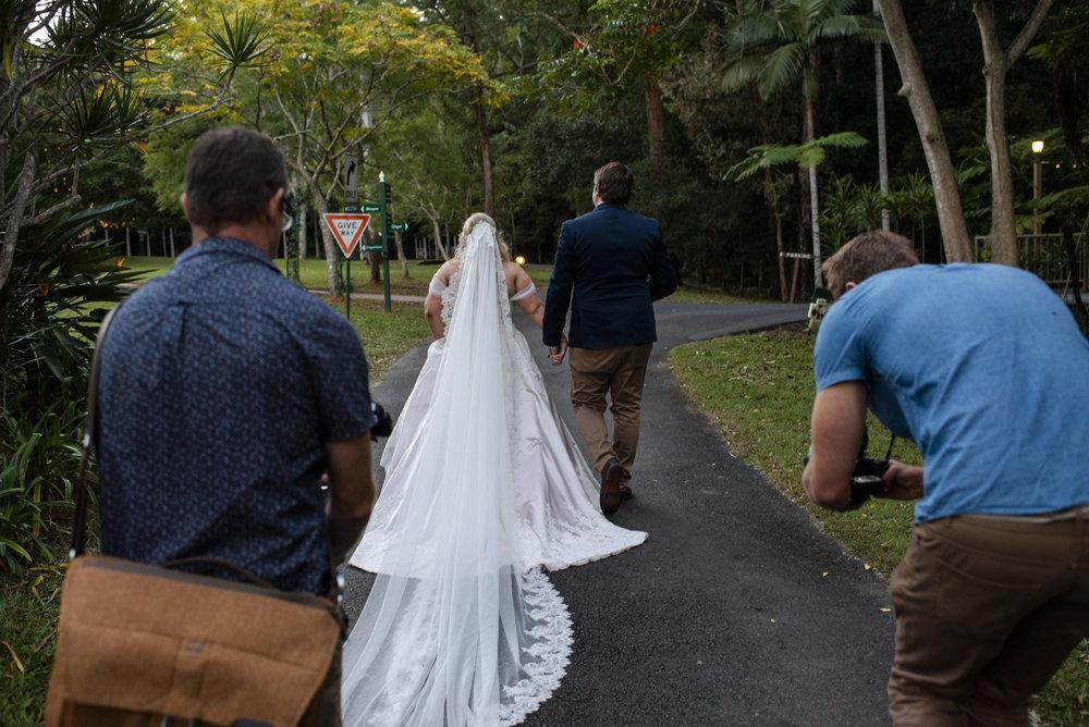 Wedding videography & photography team