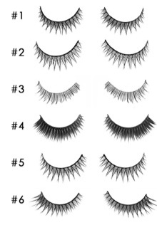 Strip Lashes Style Options