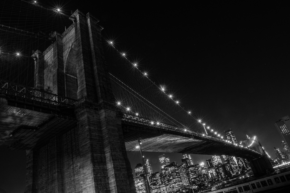 Nightscape I - Brooklyn Bridge
