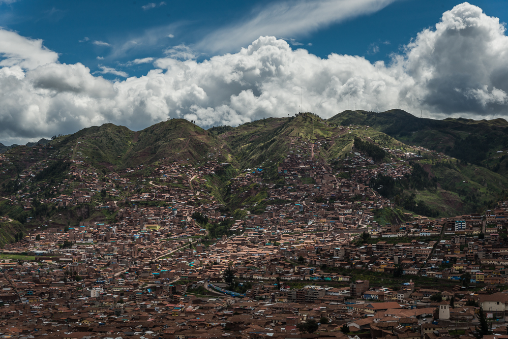 View of Cusco from Saksaywaman