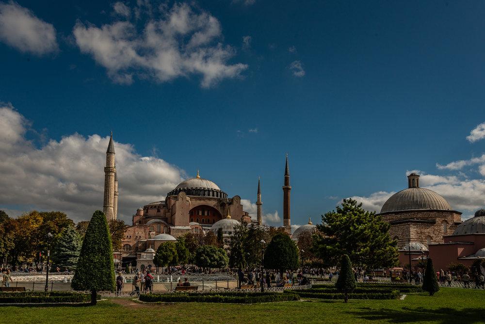 Hagia Sophia - Front view