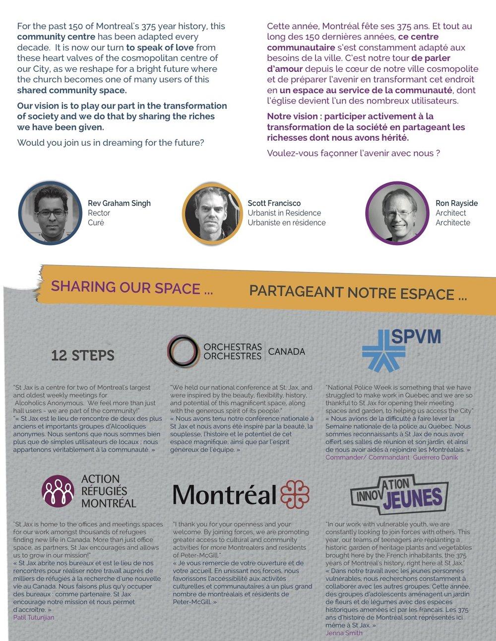 Connu Capital Vision 2020 — St Jax Montréal JS59